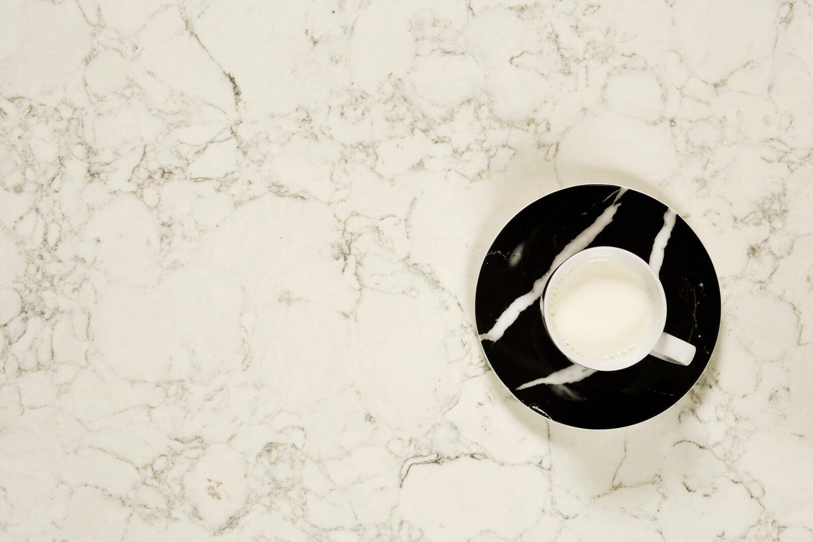 Custom quartz vanity tops